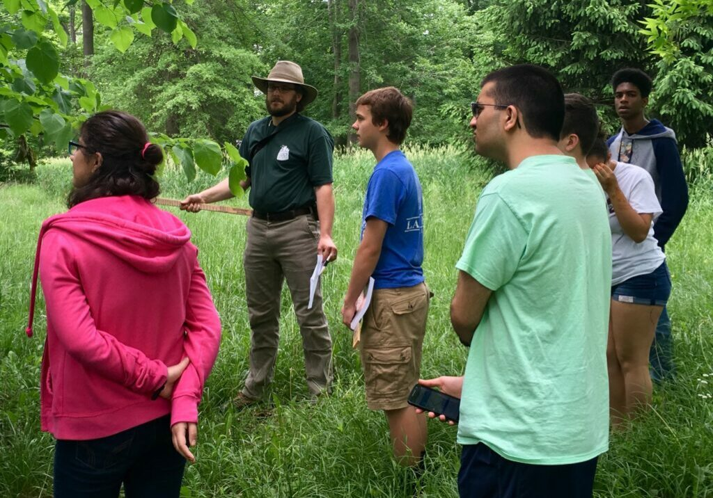 Envirothon Forestry Training1